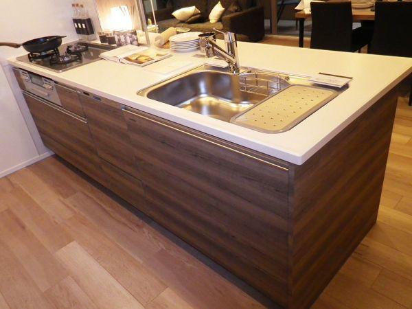 ASD14 展示品 タカラスタンダード I型 システムキッチン 水栓 コンロ レンジF 食洗器付き W2700 H850 D650