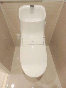 Wレット一体型トイレ